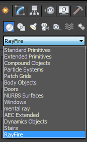RayFire Tool - Plugin for 3ds Max RF_CreatePanel